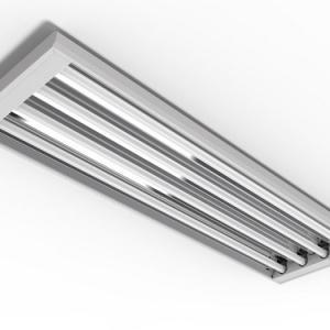 Luminaria com refletor de aluminio