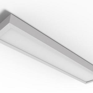 Luminaria de sobrepor para lampada led